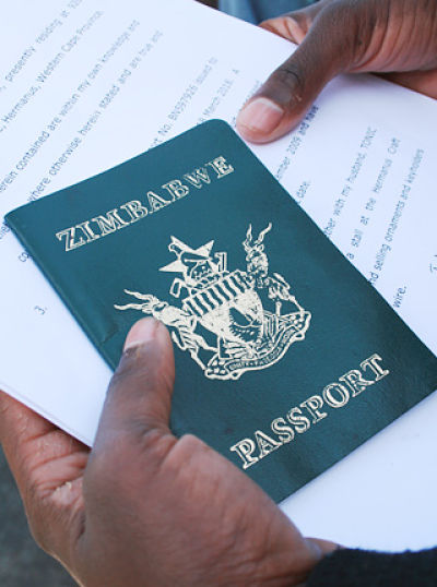 South African cabinet approved Zimbabwean dispensation permits